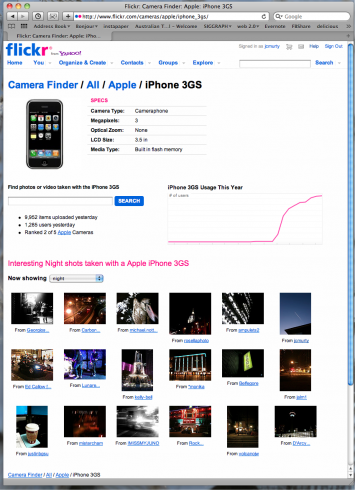 Flickr_ Camera Finder_ Apple_ iPhone 3GS
