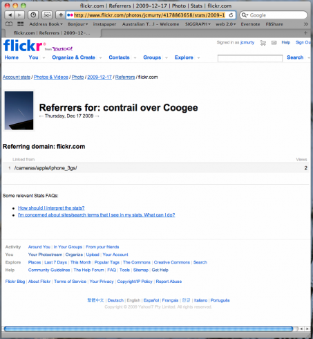 flickr.com | Referrers | 2009-12-17 | Photo | Stats | flickr.com